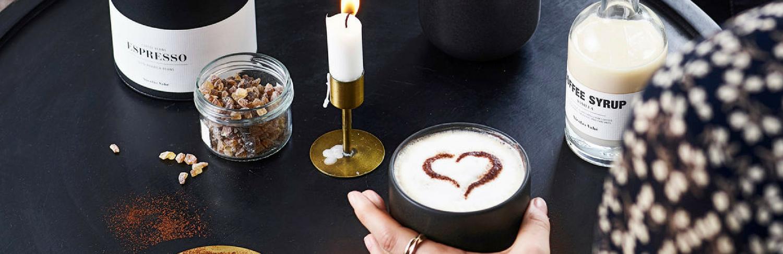 Giv din kaffe en ny og sp&aelig;ndende smag<br>