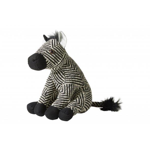Dørstopper zebra H31cm tekstil | Speedtsberg