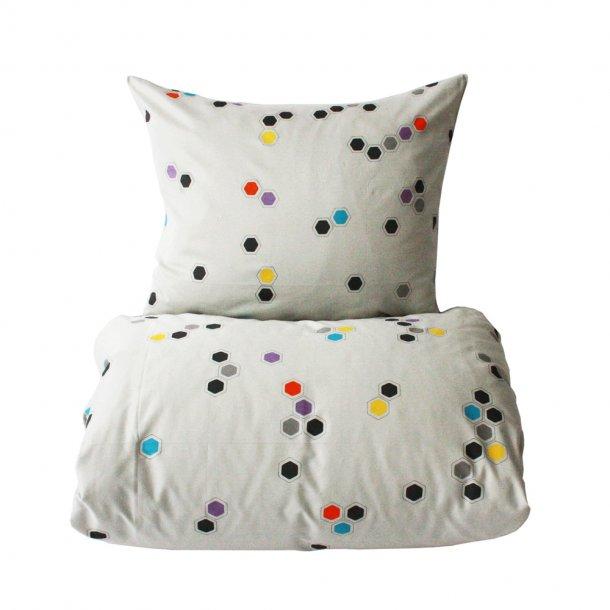 Honeycomb baby sengetøj 70 x 100   OYOY