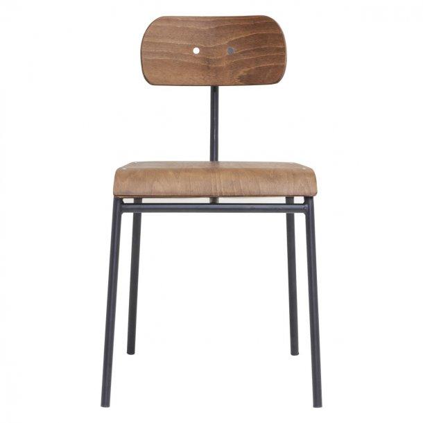Spisebordstol School brun DEMO fra House Doctor