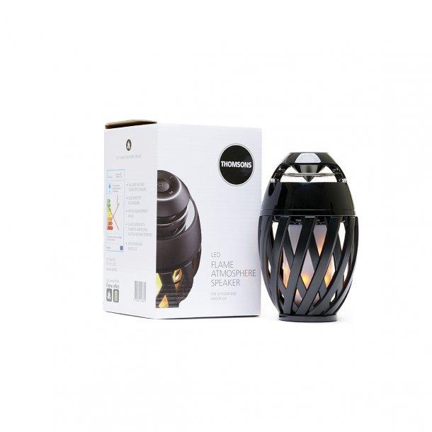 Flame atmosphere Classic LED lampe udendørslys med musik  | Thomsons