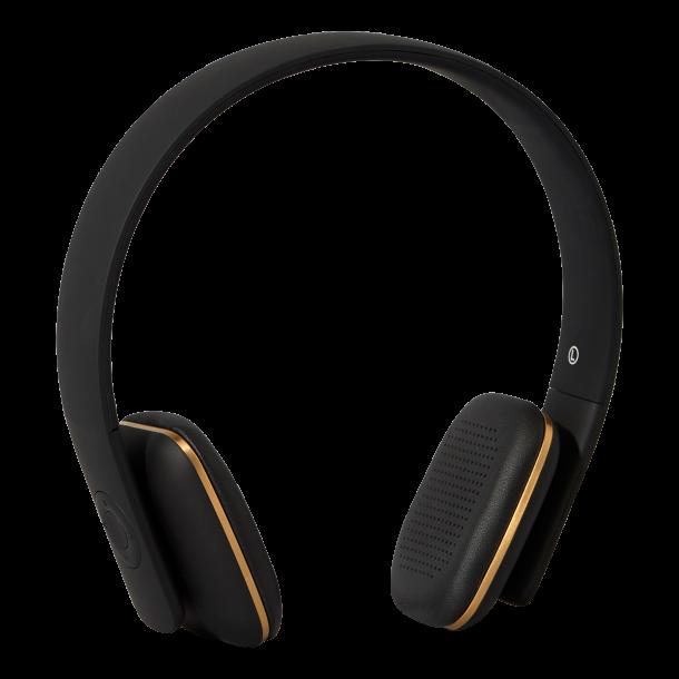 Ahead trådløse hovedtelefoner - sort   Kreafunk