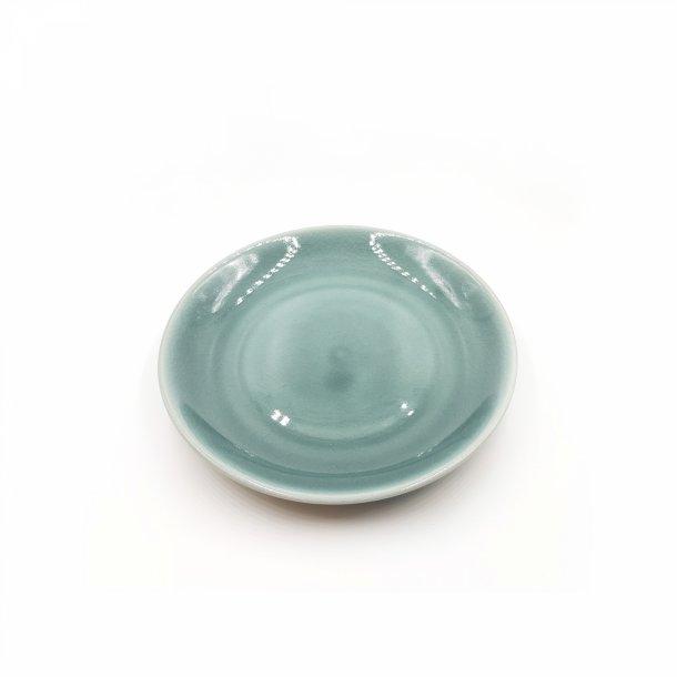 Frokosttallerken i keramik - blå grå | Thomsons