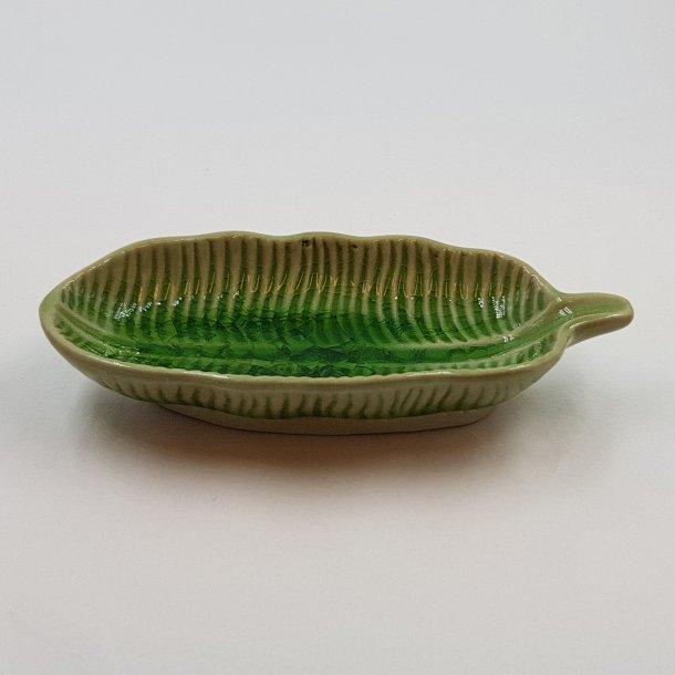 Bladformet skål grøn | Thomsons