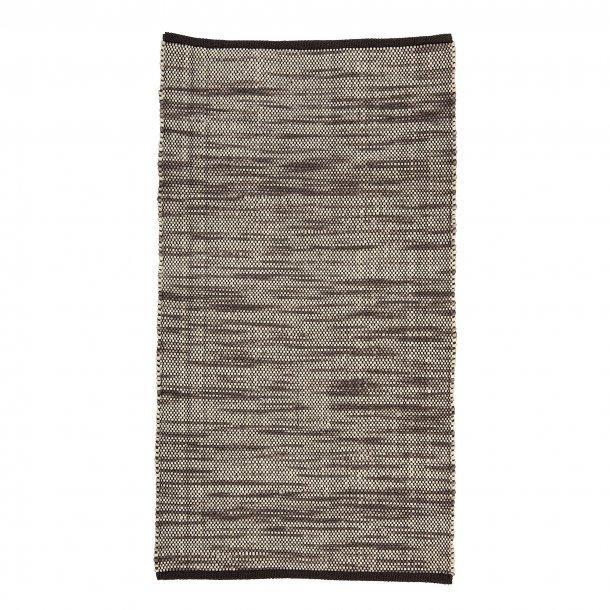 Gulvtæppe i uld 65x120cm | Bloomingville