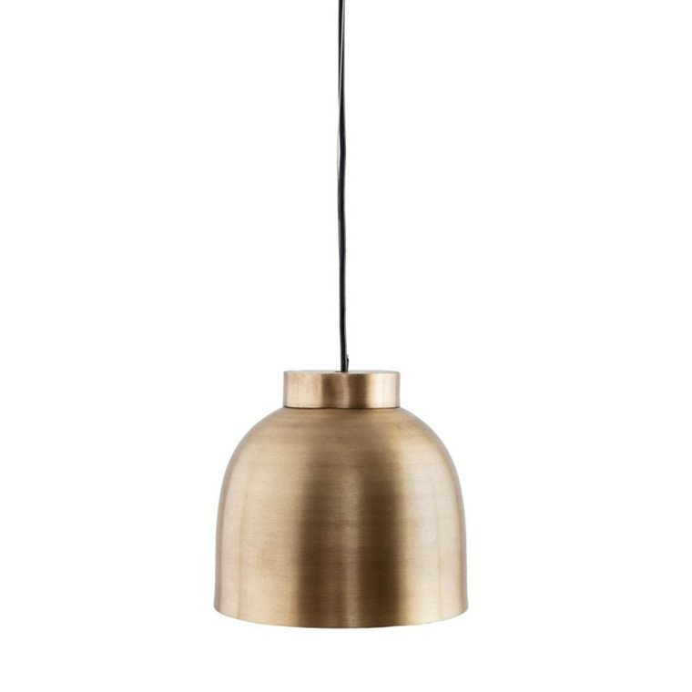 Bowl lampe messing I House Doctor