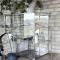 Glasskab i zink | House Doctor