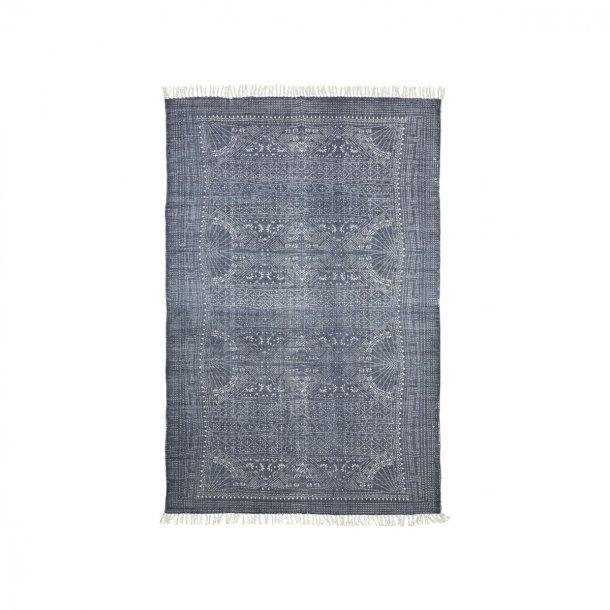 Grå hvid gulvtæppe IZA 160X230 CM | House Doctor