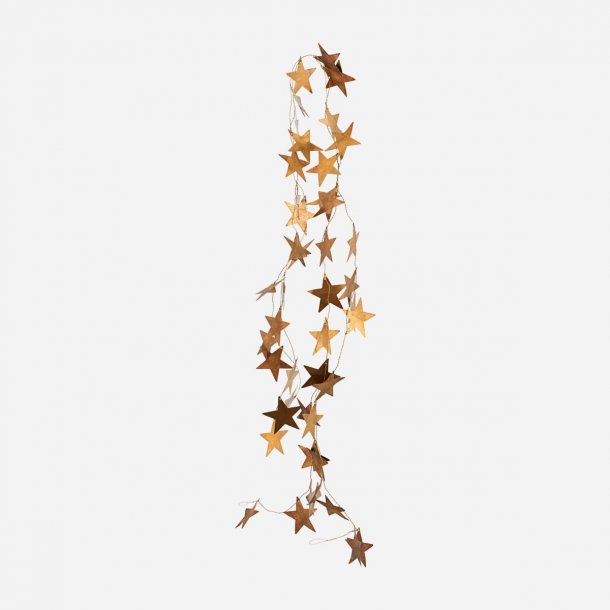 Guirlande Stars Antik messing | House Doctor