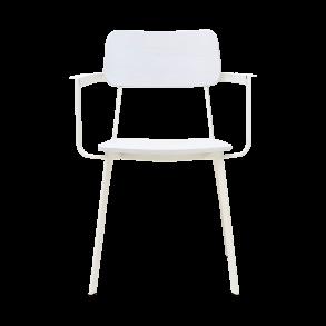f7fe5dcab6b Hvid stol med armlæn Ace | House Doctor