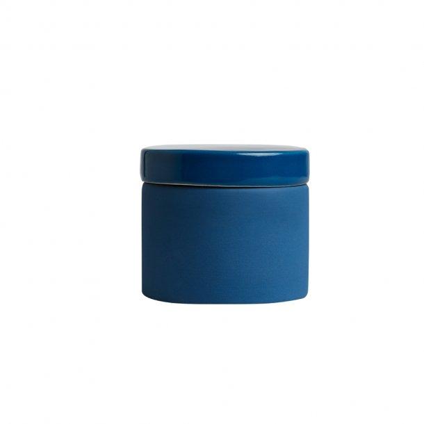 Keramik lågkrukke blå | OYOY