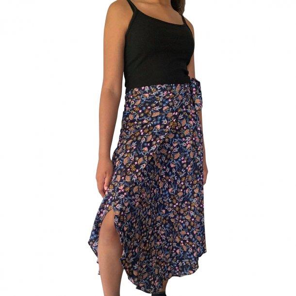 Slå om nederdel blå | MillaVanilla
