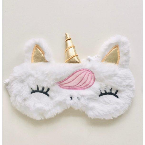 Sovemaske Unicorn hvid I MillaVanilla