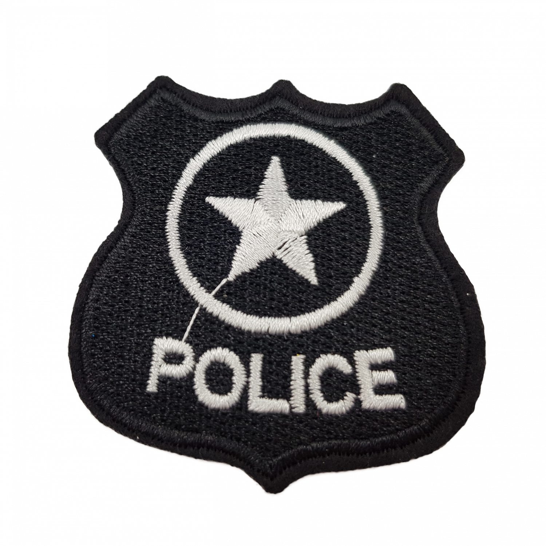 broderet badge