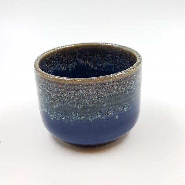 Keramik skål mørkeblå Ø7xH5 | Thomsons