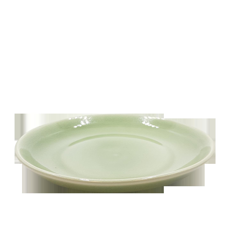 Nye Middagstallerken i keramik - grøn   Thomsons - Tallerkner - Thomsons HO-68