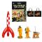 Tintin Cosmo sæt De første skridt på Månen med gratis taske | Moulinsart